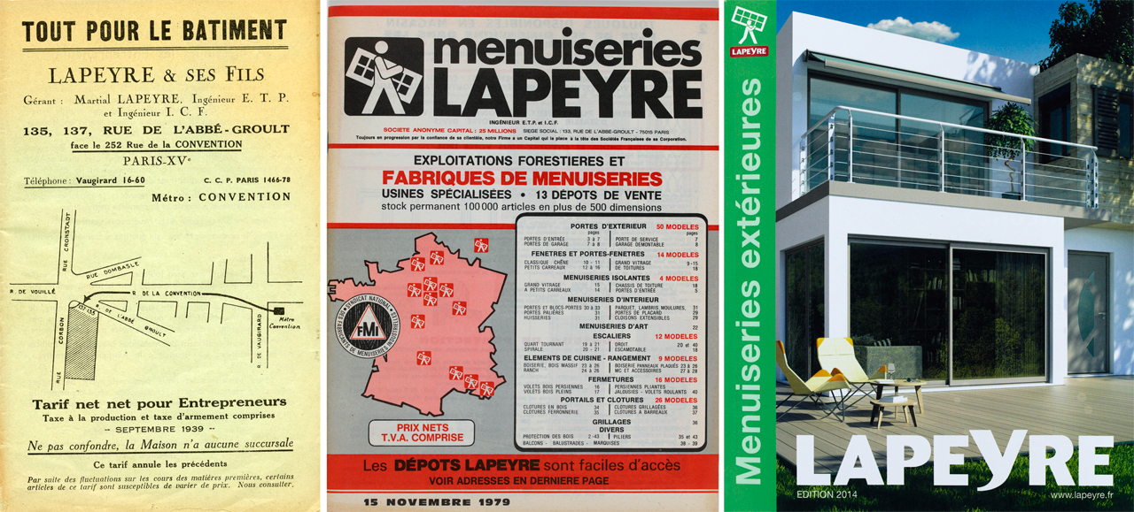 Le catalogue Lapeyre