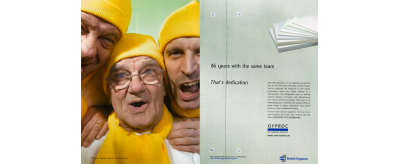 Campagne Saint-Gobain Gyproc « dedicated to plasterboard », 2006