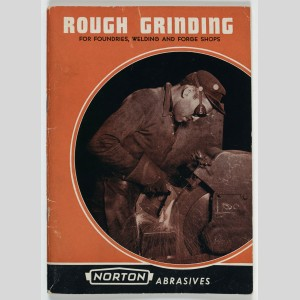 Catalogue des abrasifs Norton « Rough Grinding », 1956